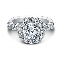 Christopher Designs  G52-RD Engagement Ring