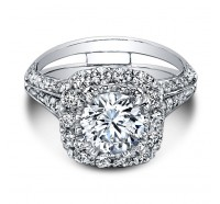 Christopher Designs  G65-CURD Engagement Ring