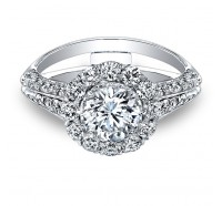 Christopher Designs  G65-RD Engagement Ring