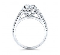Christopher Designs  G80F-CURD Engagement Ring