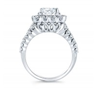Christopher Designs  G94F-3-CURD Engagement Ring