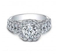 Christopher Designs  G96-2-CURD Engagement Ring