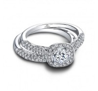 Jeff Cooper  RP1550RD Engagement Ring