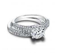 Jeff Cooper  RP1601RD Engagement Ring