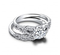Jeff Cooper  RP1611RD Engagement Ring