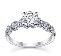 Jeff Cooper  RP1613RD Engagement Ring