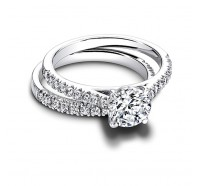 Jeff Cooper  RP1621RD Engagement Ring