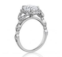 Henri Daussi  AGCS Engagement Ring