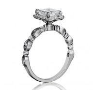 Henri Daussi  AGC Engagement Ring