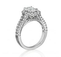 Henri Daussi  AKS Engagement Ring