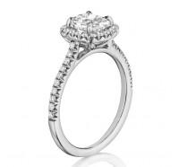 Henri Daussi  ALG Engagement Ring