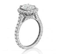 Henri Daussi  ANV Engagement Ring