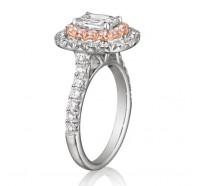 Henri Daussi  AQP Engagement Ring