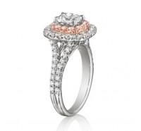 Henri Daussi  AQSP Engagement Ring