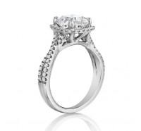 Henri Daussi  AWK Engagement Ring