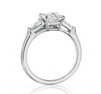 Henri Daussi  AWT Engagement Ring