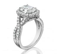Henri Daussi  AW Engagement Ring