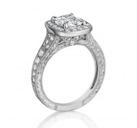 Henri Daussi  AZP Engagement Ring