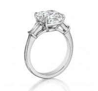 Henri Daussi  GCT Engagement Ring