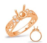 Genesis Designs  7960 Engagement Ring