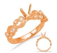 Genesis Designs  8019 Engagement Ring