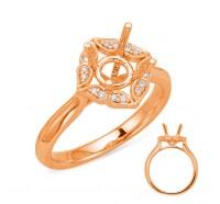 Genesis Designs  8037 Engagement Ring