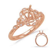 Genesis Designs  8066 Engagement Ring