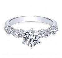 Genesis Designs  ER3848 Engagement Ring