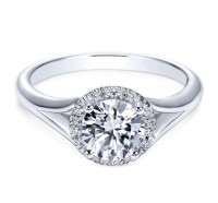 Genesis Designs  ER7808 Engagement Ring