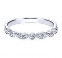 Genesis Designs  WB3848 Wedding Ring