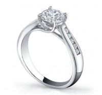 Classic Solitaire  Gen106 Engagement Ring
