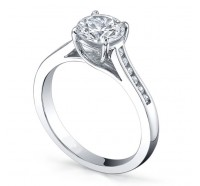 Classic Solitaire  Gen166 Engagement Ring