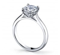 Classic Solitaire  Gen187 Engagement Ring
