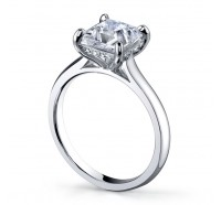 Classic Solitaire  Gen188 Engagement Ring