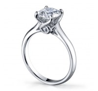 Classic Solitaire  Gen194 Engagement Ring