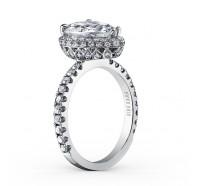 Kirk Kara  K1005DI-R Engagement Ring