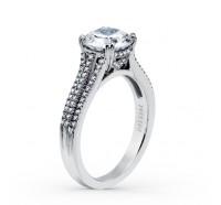 Kirk Kara  K1020DG-R Engagement Ring