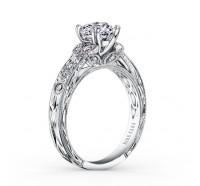 Kirk Kara  K1120DC-R Engagement Ring