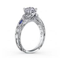 Kirk Kara  K1120SDC-R Engagement Ring