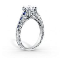 Kirk Kara  K1140BDC-R Engagement Ring