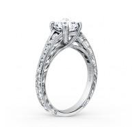 Kirk Kara  K1140DC-R Engagement Ring