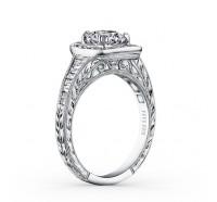 Kirk Kara  K1160DC-R Engagement Ring