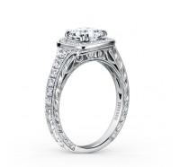 Kirk Kara  K1170DC-R Engagement Ring