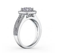 Kirk Kara  K1200DC-R Engagement Ring