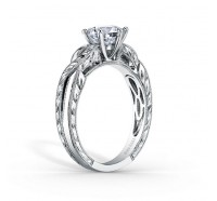 Kirk Kara  K1220DC-R Engagement Ring