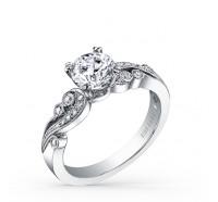 Kirk Kara  K1250DC_R Engagement Ring