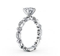 Kirk Kara  K1270DC-R Engagement Ring