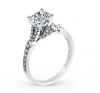 Kirk Kara  K1290DC-R Engagement Ring