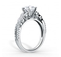 Kirk Kara  K133R Engagement Ring