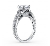 Kirk Kara  K1350DC-R Engagement Ring